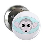 """MONKEY FACE 2.25"""" Button (100 pack)"""