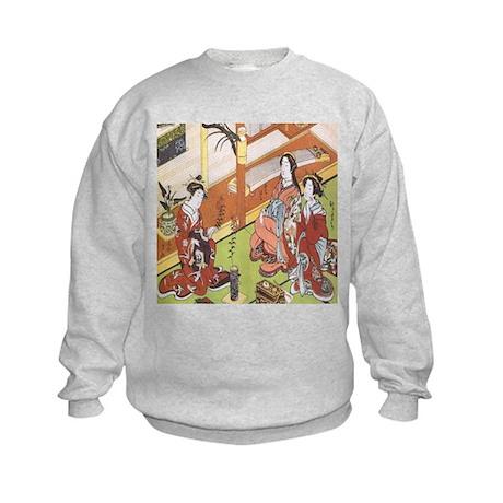 IKEBANA-CLASSICAL SEIKA ISSHU Kids Sweatshirt