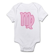 Pink Zodiac Virgo Infant Creeper
