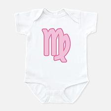 Pink Zodiac Virgo Infant Creeper