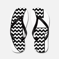 Cute Chevron Flip Flops