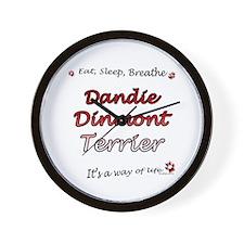 Dandie Breathe Wall Clock