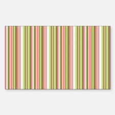 Spring Stripes Decal