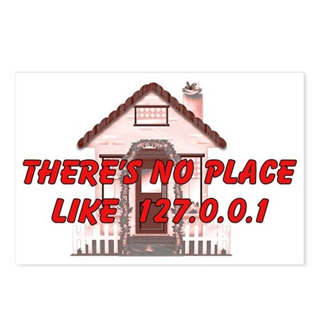 No Place like 127.0.0.1 Postcards (Package of 8)