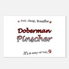 Dobie Breathe Postcards (Package of 8)