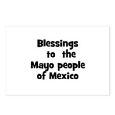Blessings  to  the  Mayo peop Postcards (Package o
