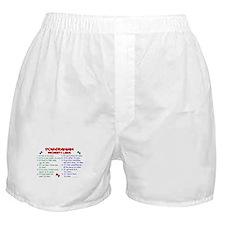 Pomeranian Property Laws 2 Boxer Shorts