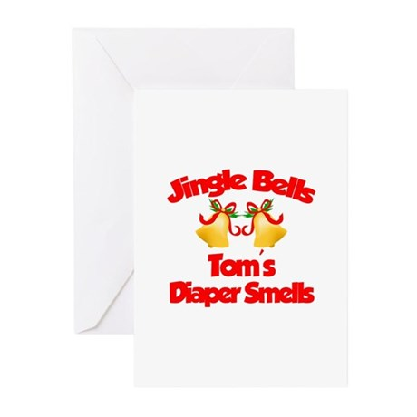 Tom - Jingle Bells Greeting Cards (Pk of 10)