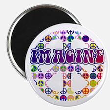 "Imagine Peace Anti-war Art 2.25"" Magnet (10 pack)"