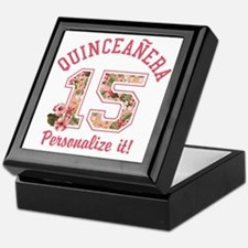 PERSONALIZED Quinceanera 15 Keepsake Box