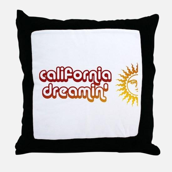 Cute Hollister california Throw Pillow