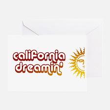 Cute Vintage california Greeting Card