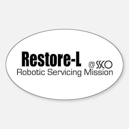 Restore-L Sticker (Oval)