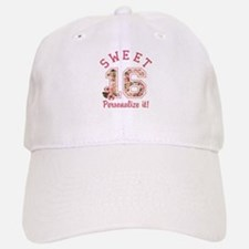 PERSONALIZED Sweet 16 Baseball Cap
