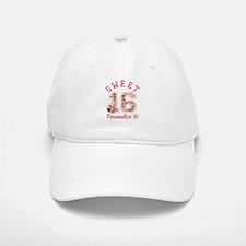 PERSONALIZED Sweet 16 Baseball Hat