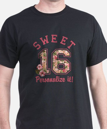 PERSONALIZED Sweet 16 T-Shirt