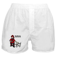 My Dad Is A Firefighter Boxer Shorts