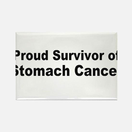 Proud Survivor Rectangle Magnet