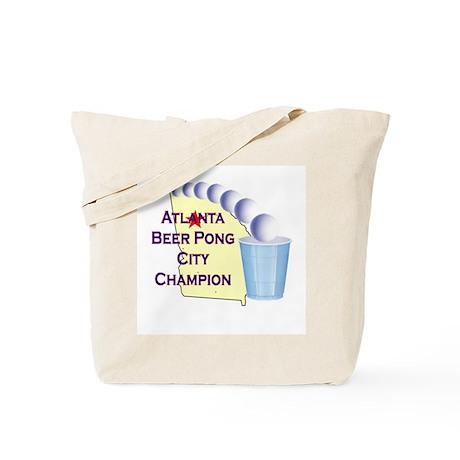 Atlanta Beer Pong City Champi Tote Bag
