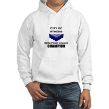 City of Athens Beer Pong Leag Hoodie