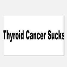 Thyroid Cancer Sucks Postcards (Package of 8)