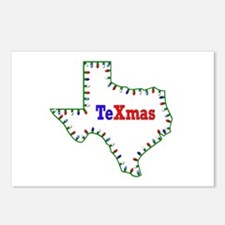 TeXmas Lights Postcards (Package of 8)