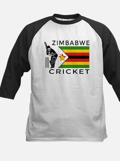 Zimbabwe Cricket Kids Baseball Jersey