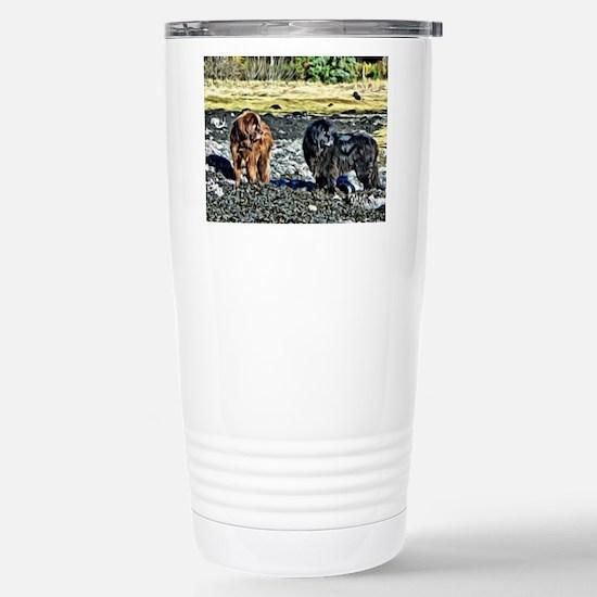 Alaska Newfoundlands Hercules & Ursa Travel Mug
