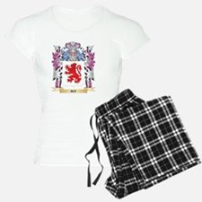 Ivy Coat of Arms (Family Cr Pajamas