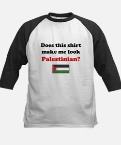 Make Me Look Palestinian Kids Baseball Jersey