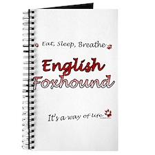 English Fox Breathe Journal