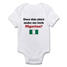 Make Me Look Nigerian Infant Bodysuit