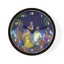 Cute Dancer Wall Clock