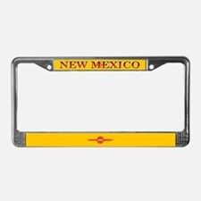 New Mexico Blank Flag License Plate Frame