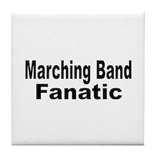 Band Fanatic Tile Coaster
