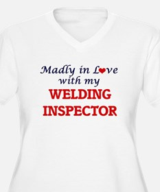 Madly in love with my Welding In Plus Size T-Shirt