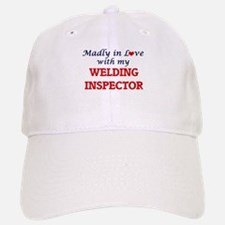 Madly in love with my Welding Inspector Baseball Baseball Cap