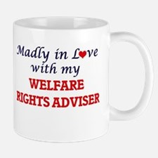 Madly in love with my Welfare Rights Adviser Mugs