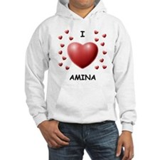 I Love Amina - Jumper Hoody