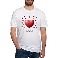 I Love Amya - Shirt