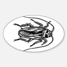 Cockroach Top View Decal