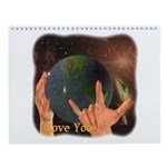 "ASL ""I Love You"" Wall Calendar"