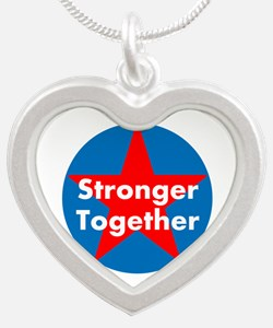 Stronger Together, Hillary 2016 Necklaces