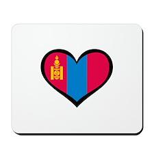 Mongolia Love Mousepad