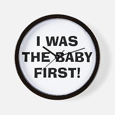Funny New baby Wall Clock
