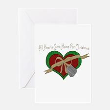 USA Heart Greeting Card