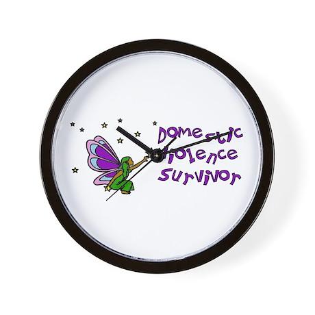 Domestic Violence Survivor Wall Clock