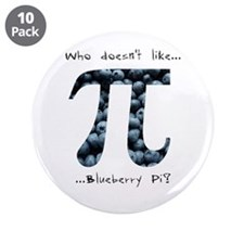 """Blueberry Pi 3.5"""" Button (10 pack)"""