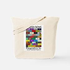 Defeat Eugenics Tote Bag