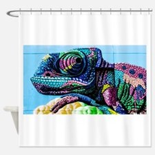 Cool Mural Shower Curtain
